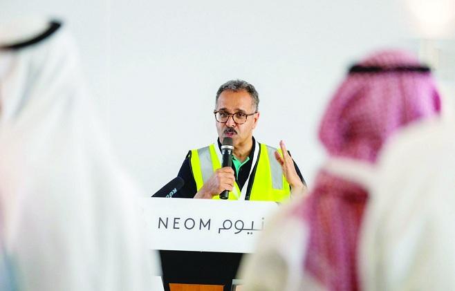 """رئيس نيوم : مشروع """"ذا لاين"""" سينتهي ببناء واحد من أكبر ..."""